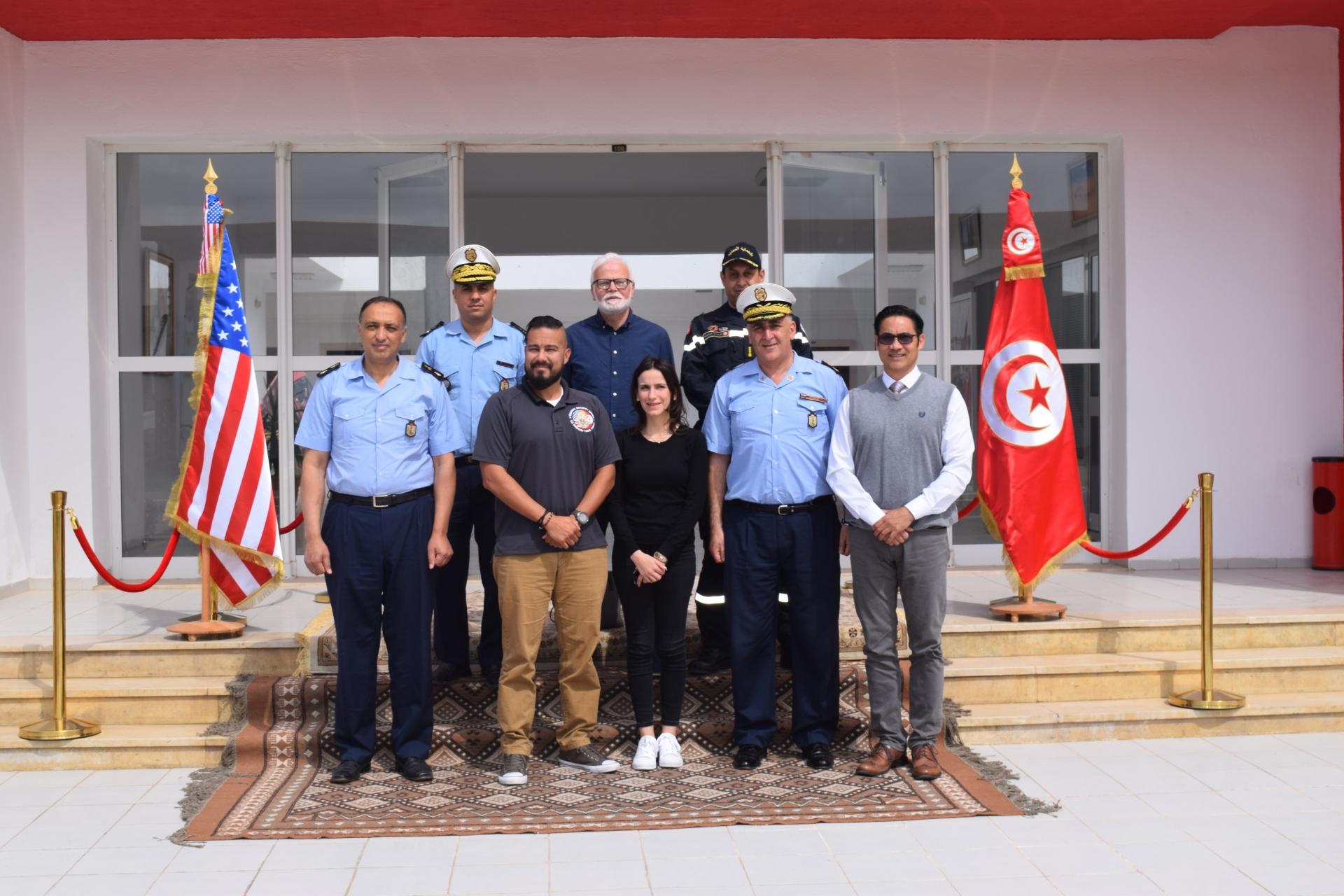 Visite du Bureau Régional Américain de la Sécurité (RSO) à l'ENPC
