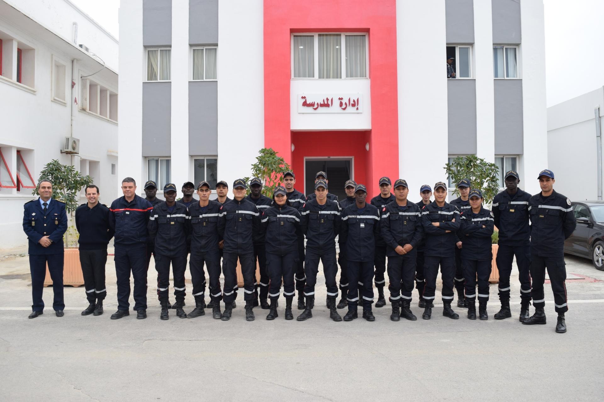 Fin du stage de formation de spécialité (GOC3) pour les officiers de l'école d'application