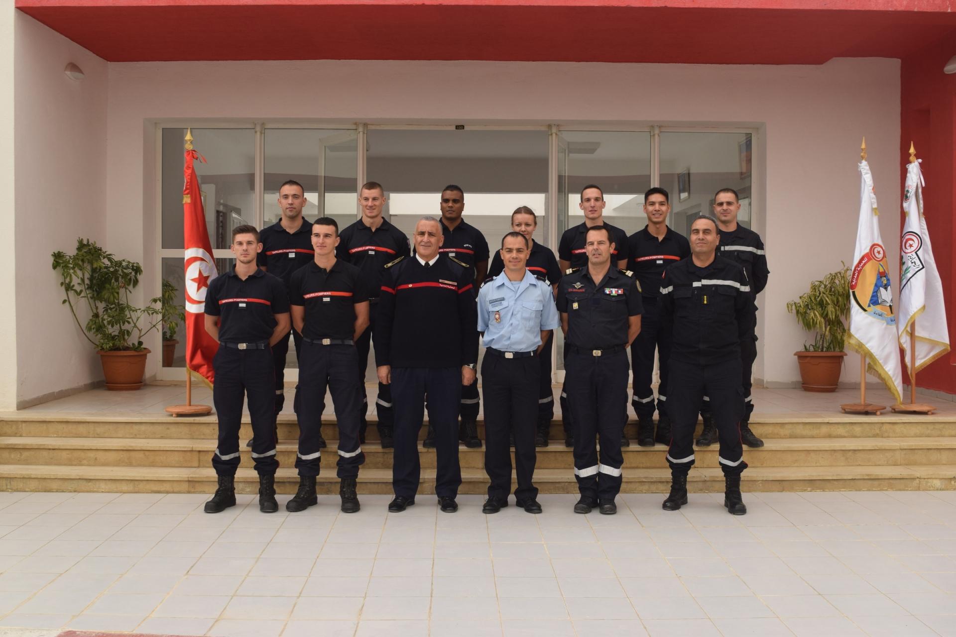 Nous souhaitons la bienvenue à l'ENPC aux officiers en formation initiale de l'ENSOSP