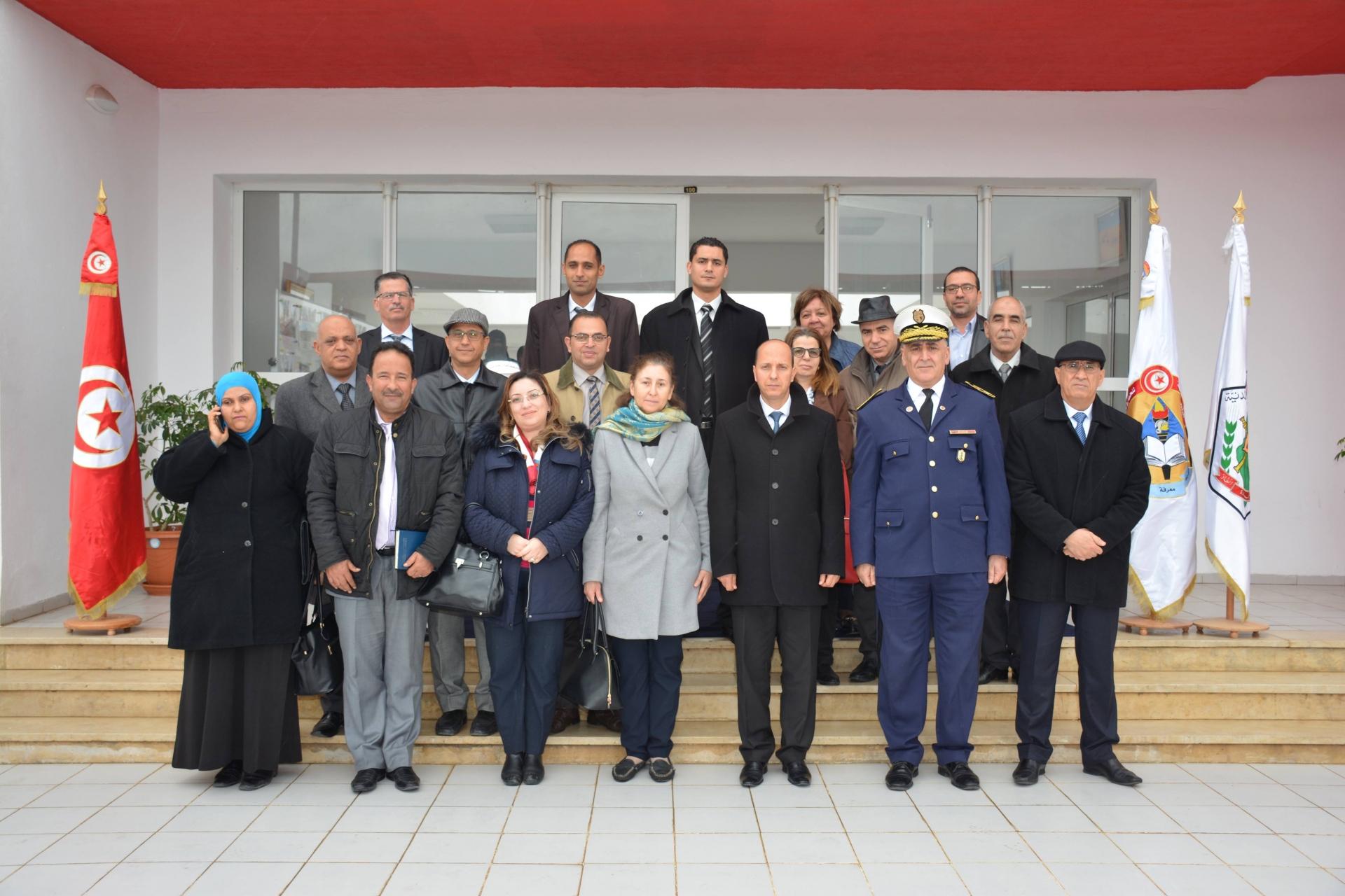 Visite de  la 12ème session de l'institut de leadership administratif de l'École nationale d'administration ENA à l'ENPC.