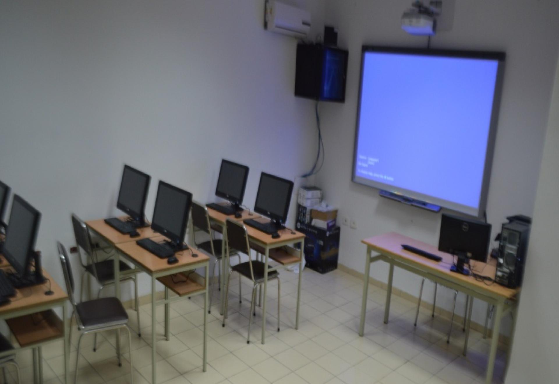 Fin du stage de formation en informatique bureautique à l'ENPC