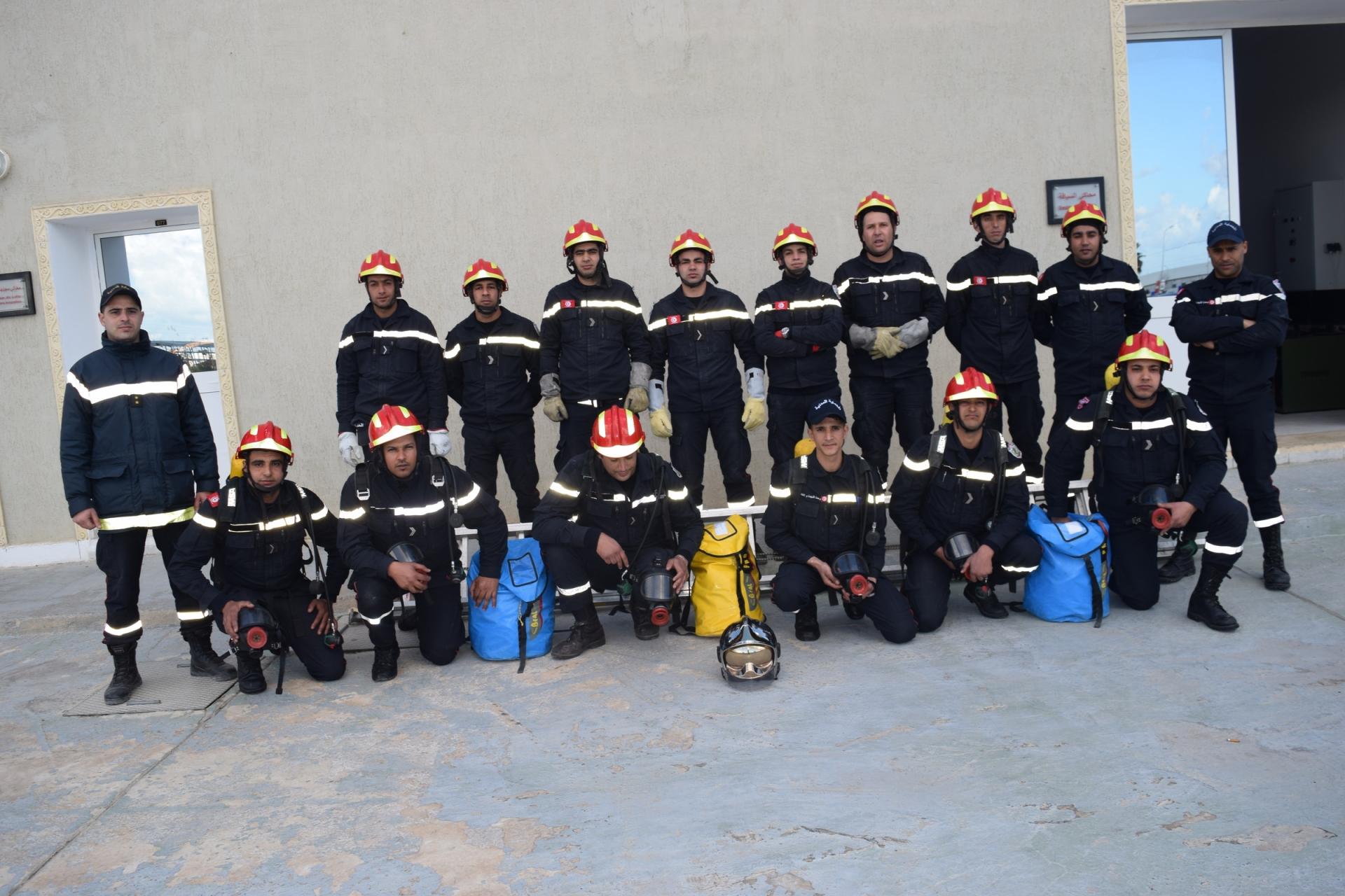 Fin du stage de formation de spécialité (LSPCC-ARI) pour des agents de l'ONPC