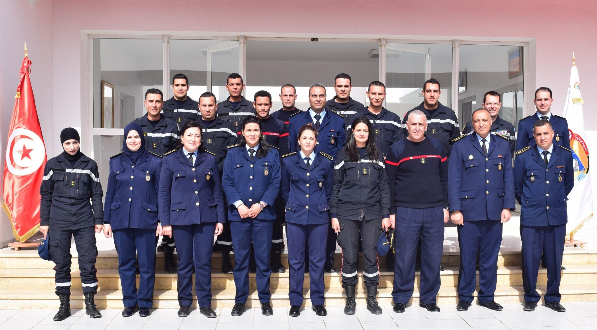 Inauguration de la première promotion « Cours Capitaines » à l'Ecole Nationale de la Protection Civile