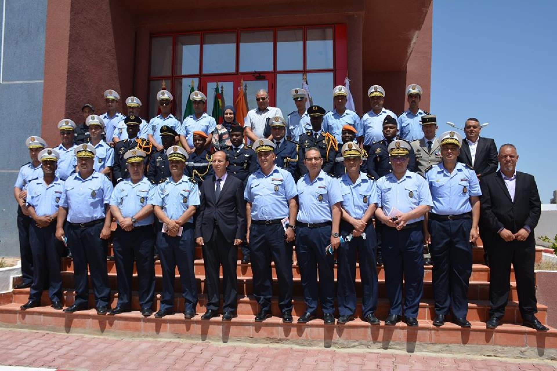 Baptême de la 4ème promotion des officiers de la protection civile