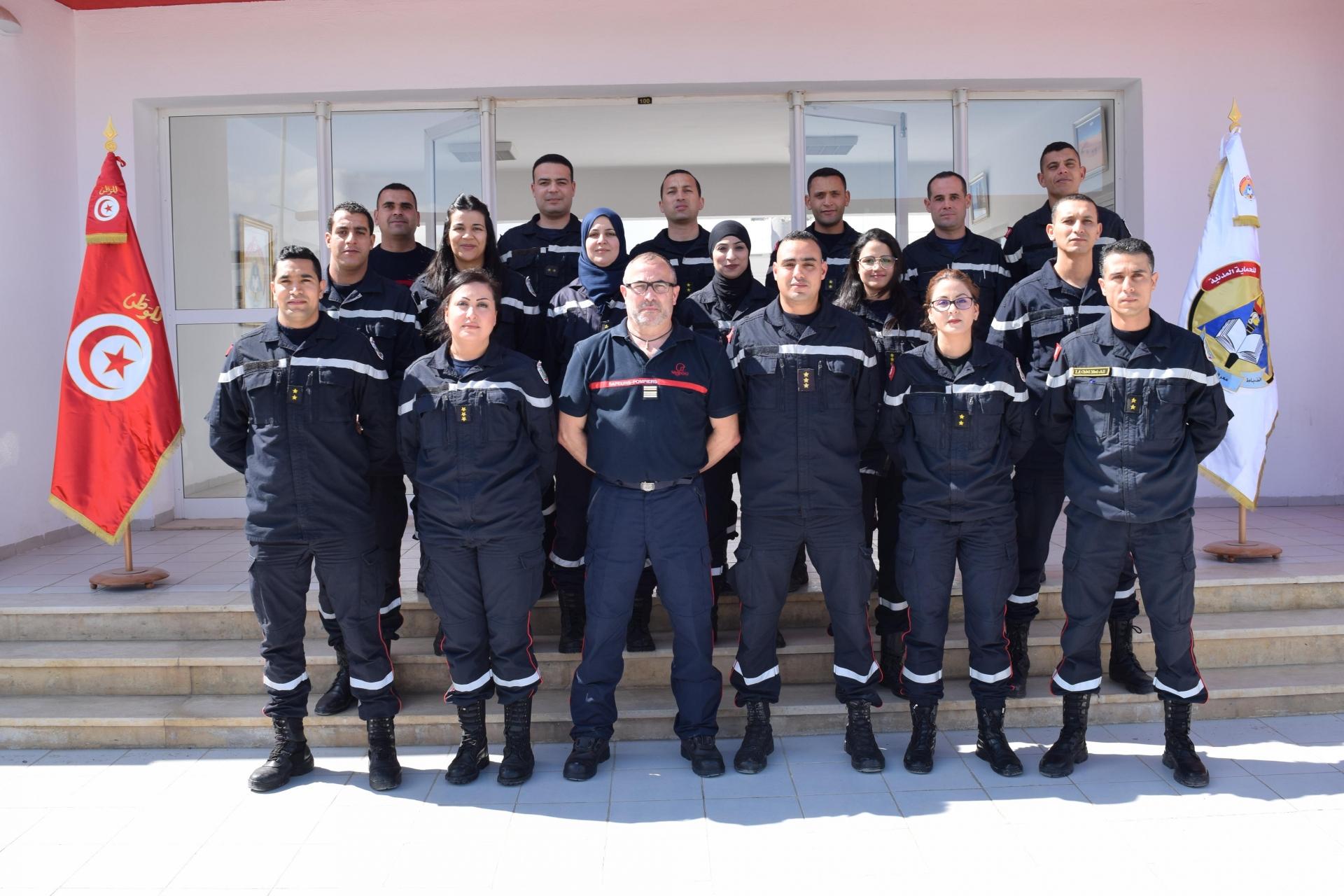 Ouverture de la deuxième session de formation « G O C 4 » à l'Ecole Nationale de la Protection Civile