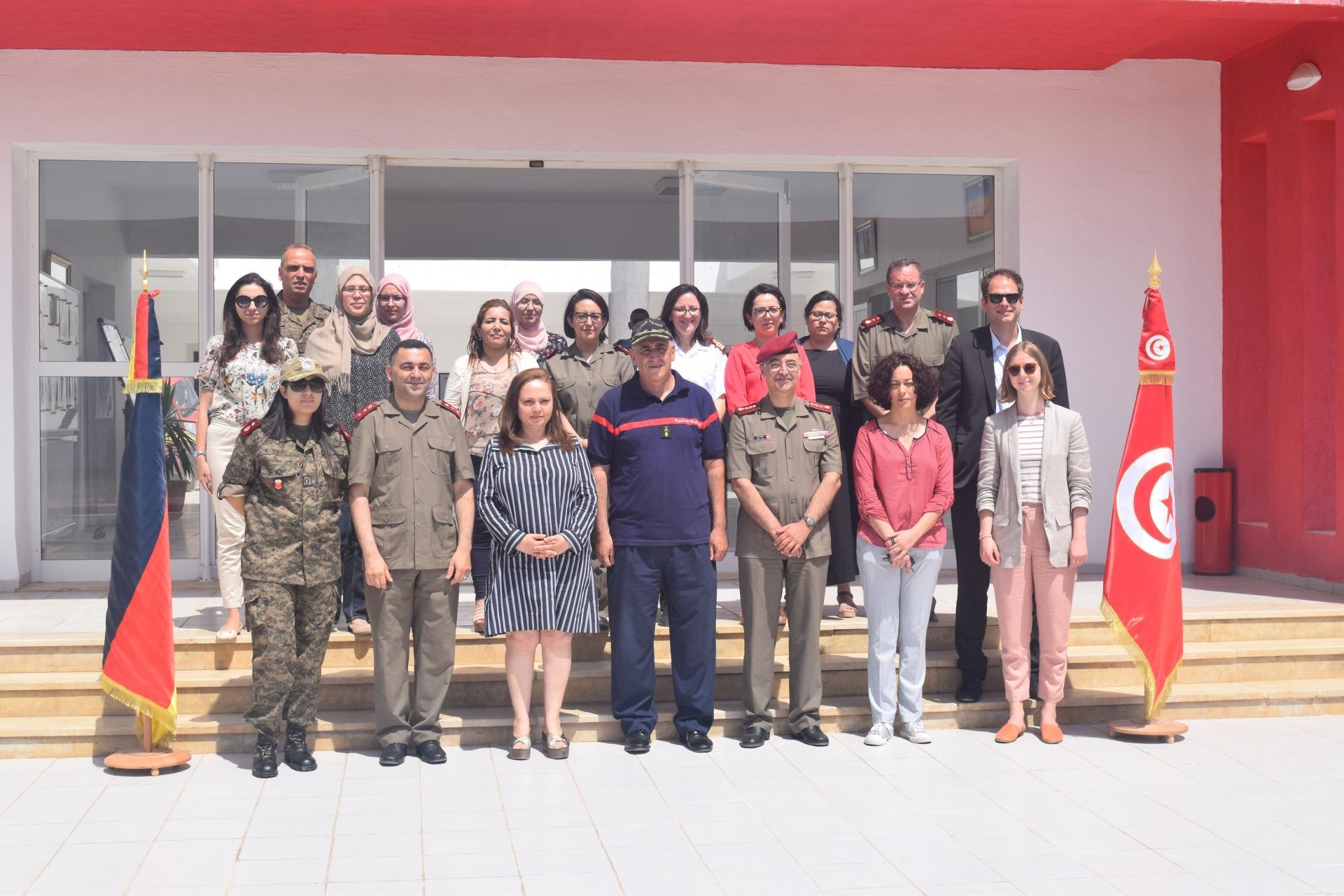 إفتتاح دورات تكوينية في مجال الأمن البيولوجي والصحي بالمدرسة الوطنية للحماية المدنية