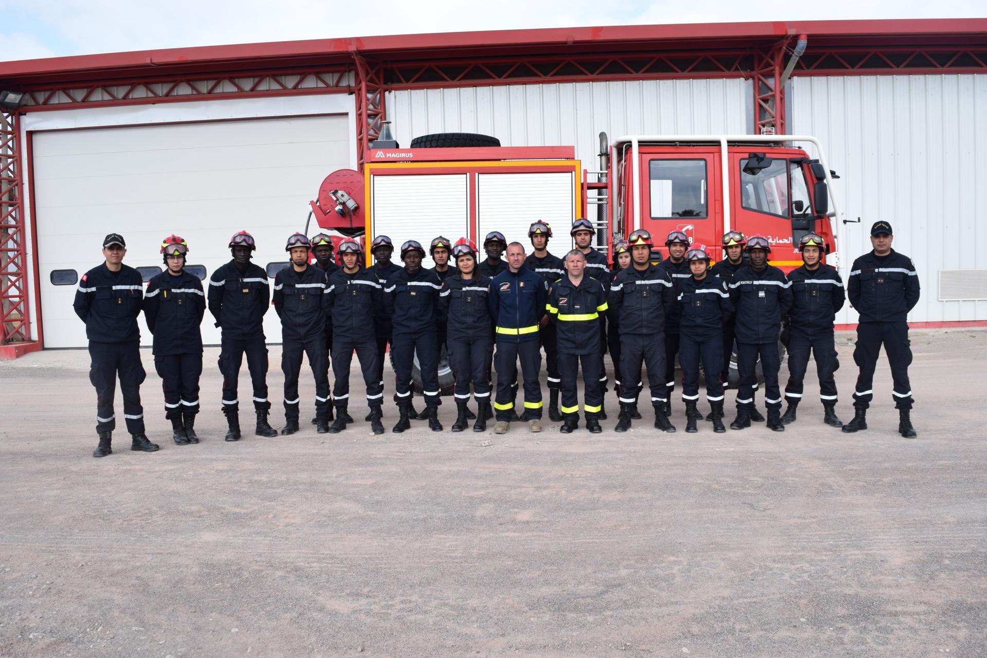 Fin du stage de formation de spécialité (FDF-Niveau1/2) pour les officiers de l'école d'application