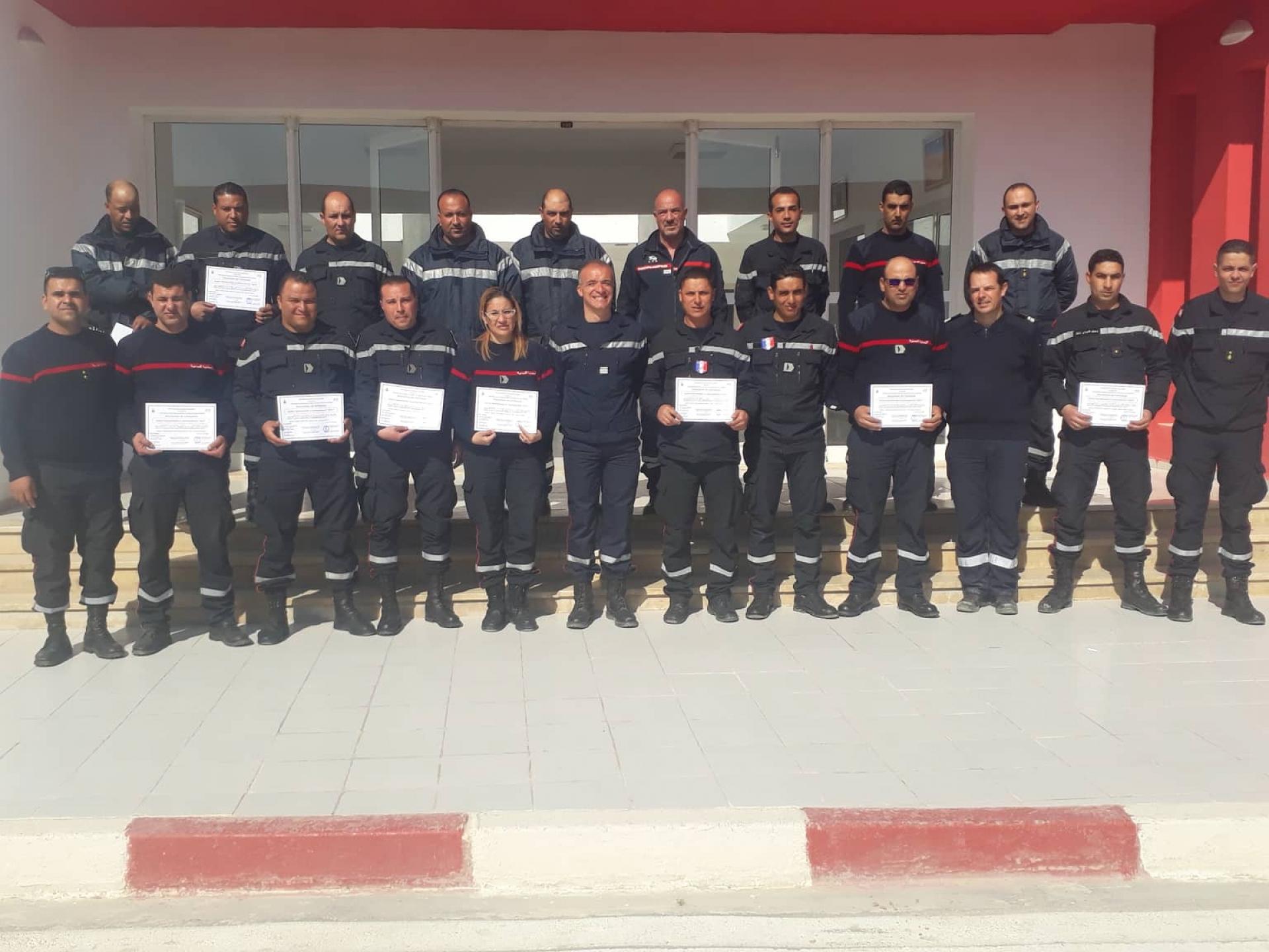 clôture du stage de formation de spécialité « GOC3» à l'ENPC