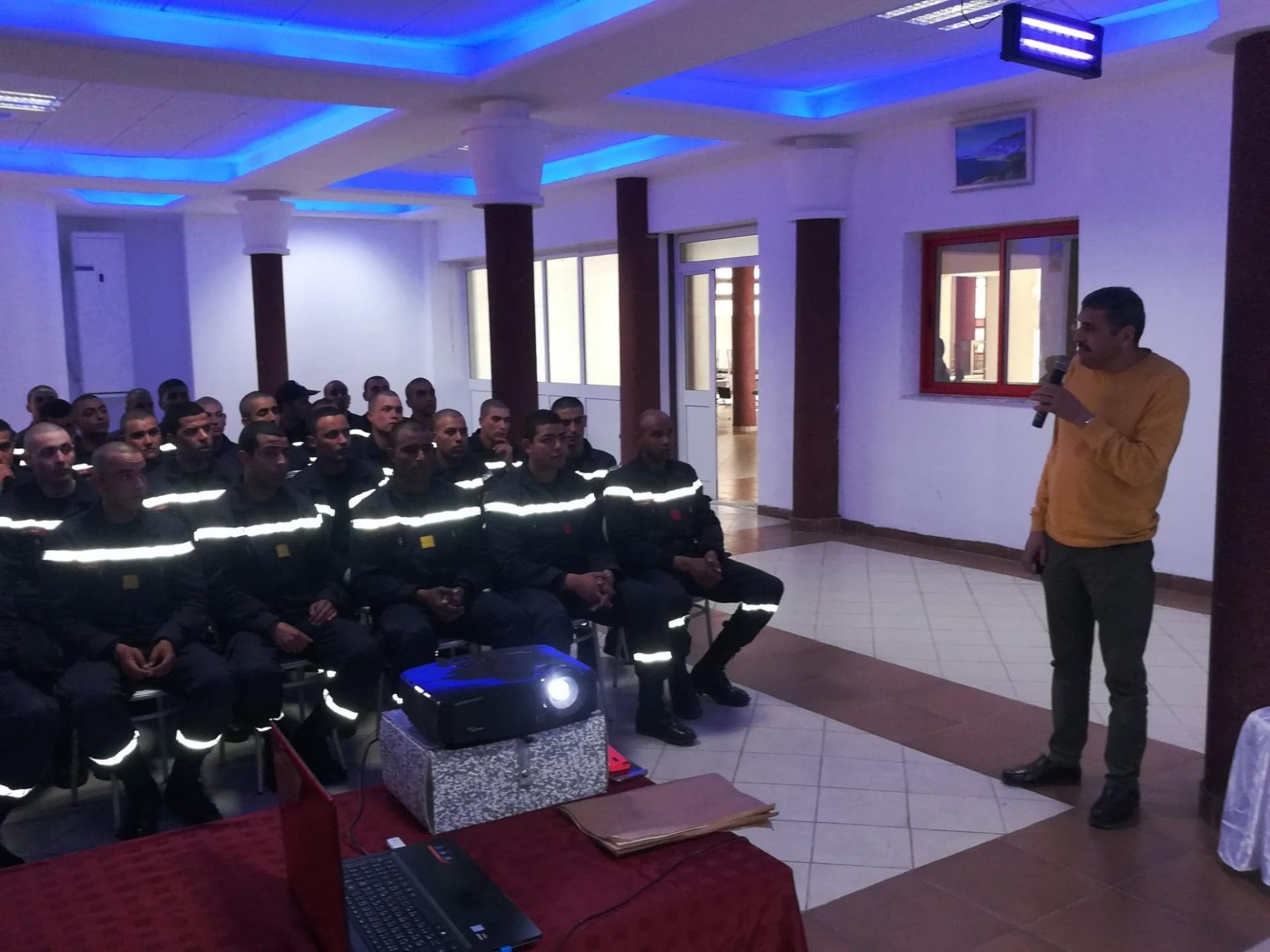 Journée de Sensibilisation sur le tabagisme et la nutrition pour les élèves sergents à l'ENPC