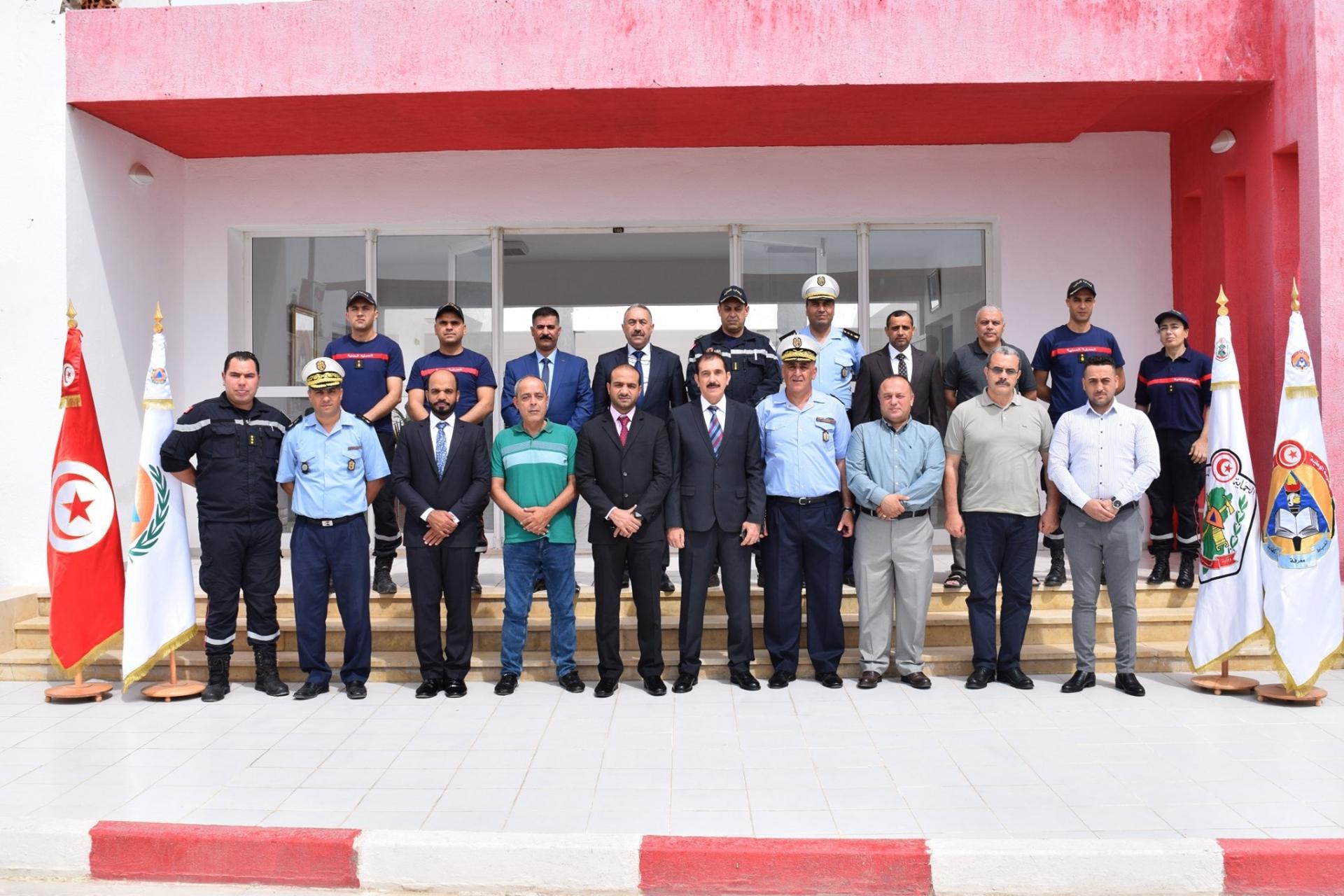 Ouverture de la session de formation en Secours Combat sous la supervision de l'OIPC à l'ENPC